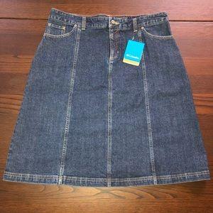 Columbia Jean Skirt